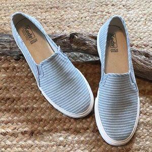 Keds Double Decker Striped Canvas Sneaker
